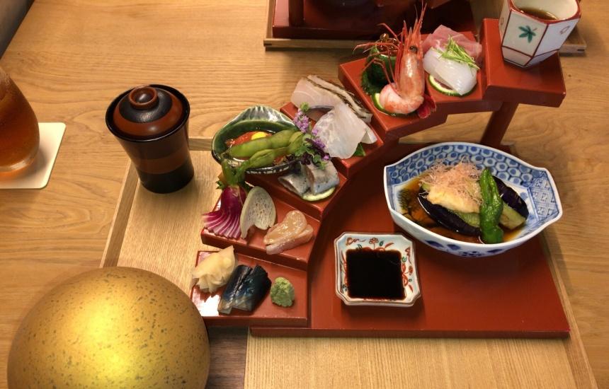 【京都ランチ】ちょこちょこ華やかランチが可愛い!路地との本「ちらし寿司セット」