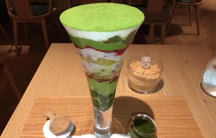 【京都パフェ】吉祥菓寮 京都四条店でパフェを食べよう!「京菓(きょうか)抹茶パフェ」