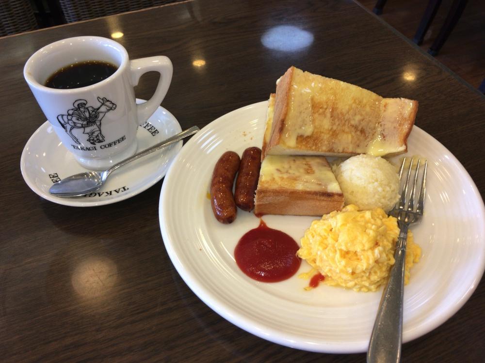 【京都モーニング】老舗喫茶店で食べるモーニング!高木珈琲店 高辻本店